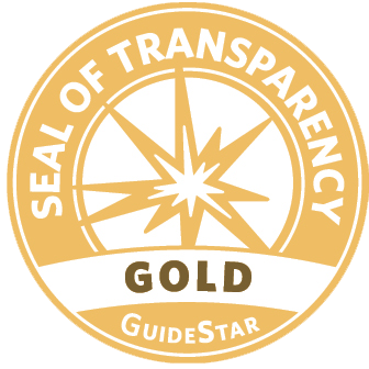 Gold Seal of Transparency from Guidestar